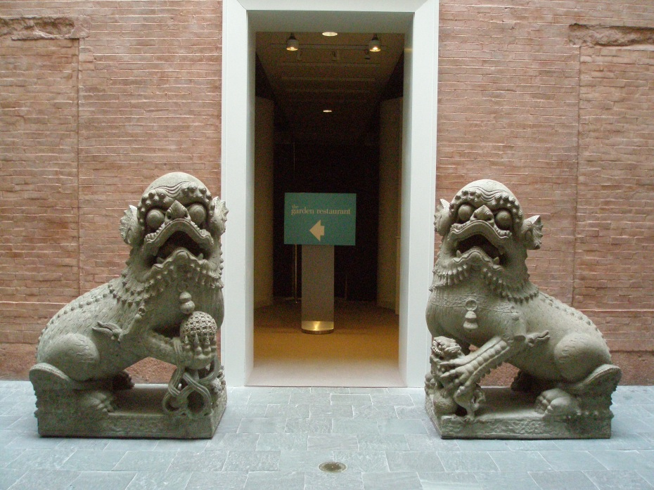 The FOO DOGS...who guard the food.
