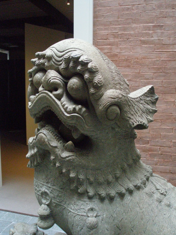 May this Foo Dog guard you from all harm. PEACE.