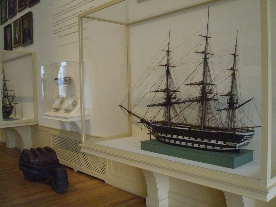 In the East India Marine Hall