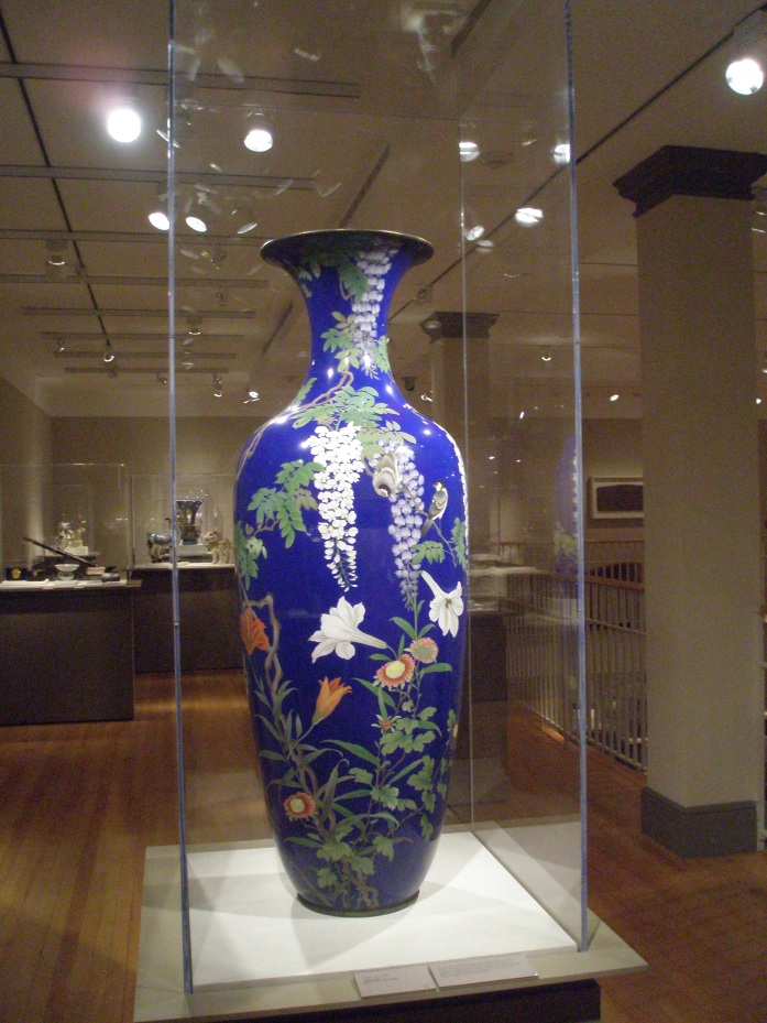 Vase. Copper & Enamel. 1892
