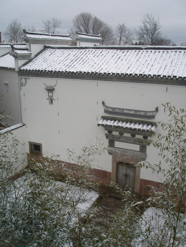 Entry Courtyard to Yin Yu Tang House, as seen from 3rd level of Main Museum.
