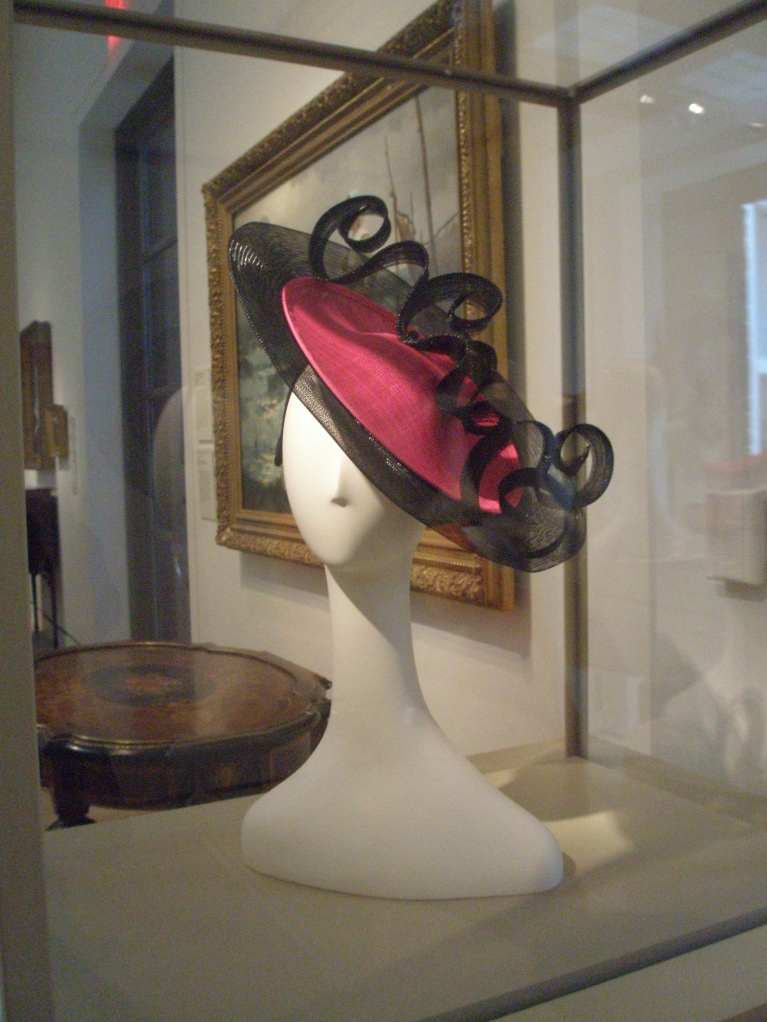 A teaser for the HATS show, in the 1st floor American Art Gallery