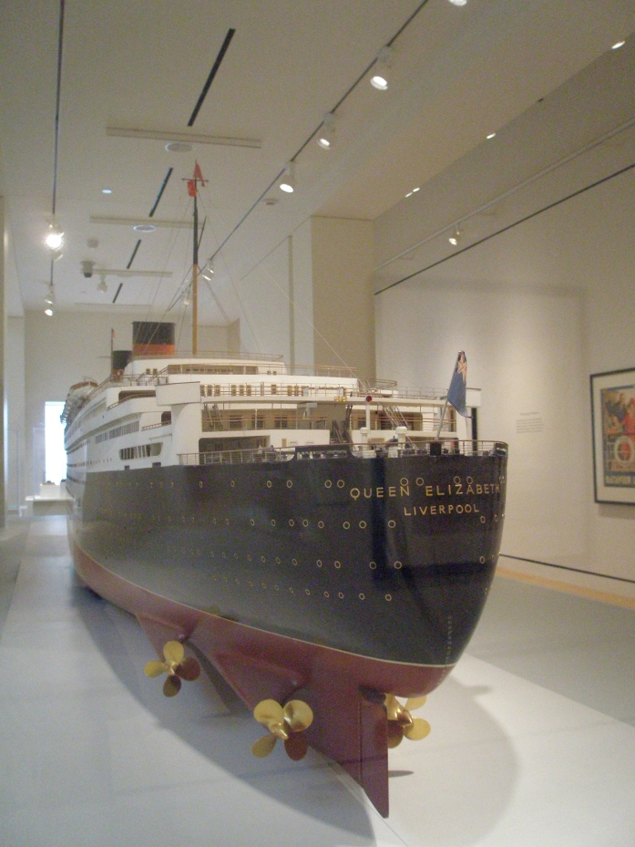 Model of RMS Queen Elizabeth