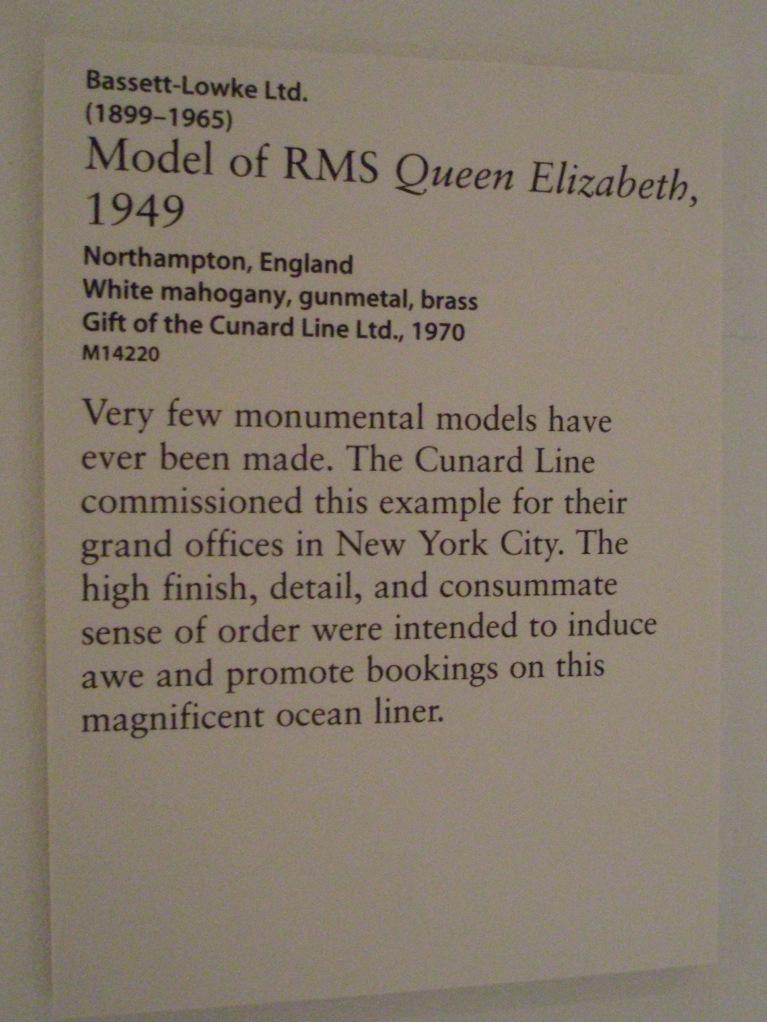 Explaining the massive ship model