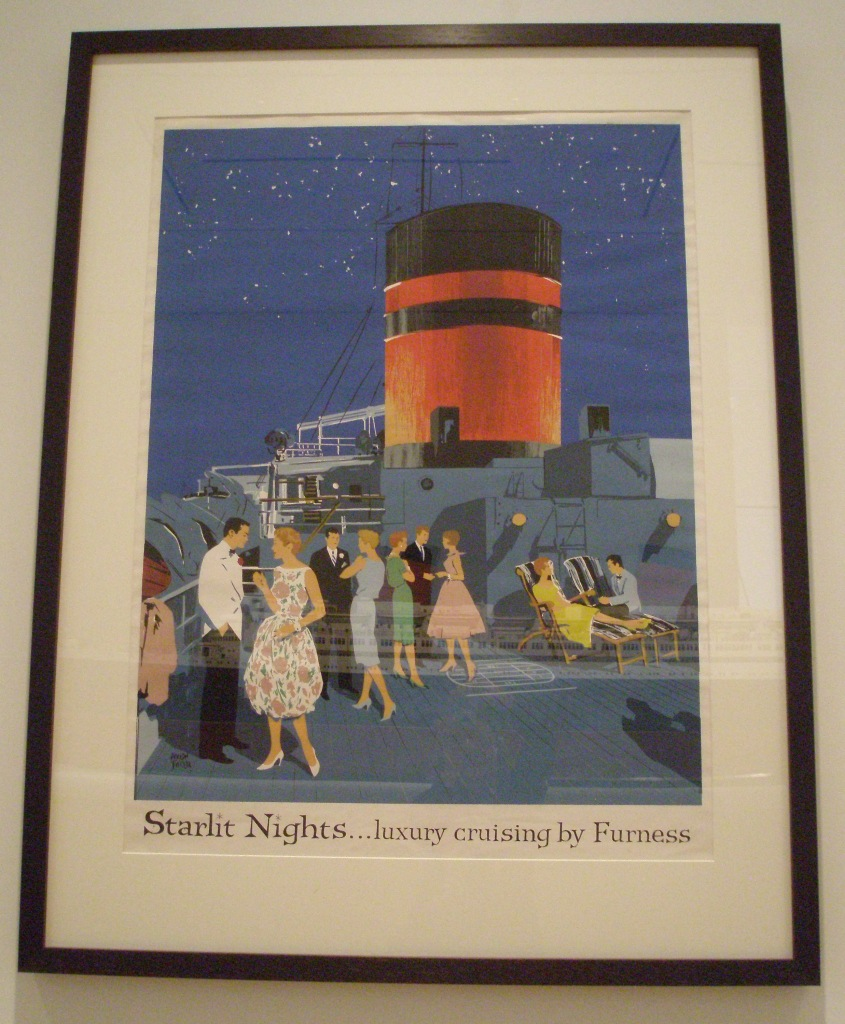 FURNESS BERMUDA. Poster by Adolph Treidler. Mid 1900s.