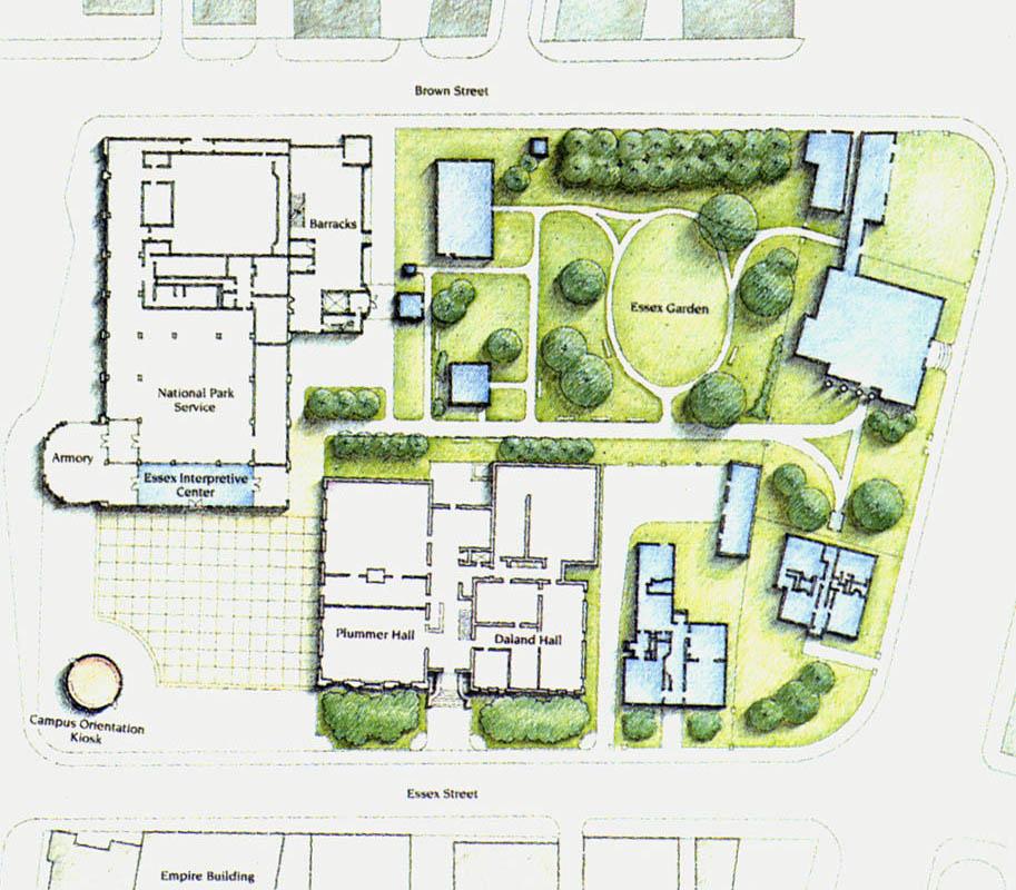 Peabody Essex Museum--Federal Garden Master Plan.