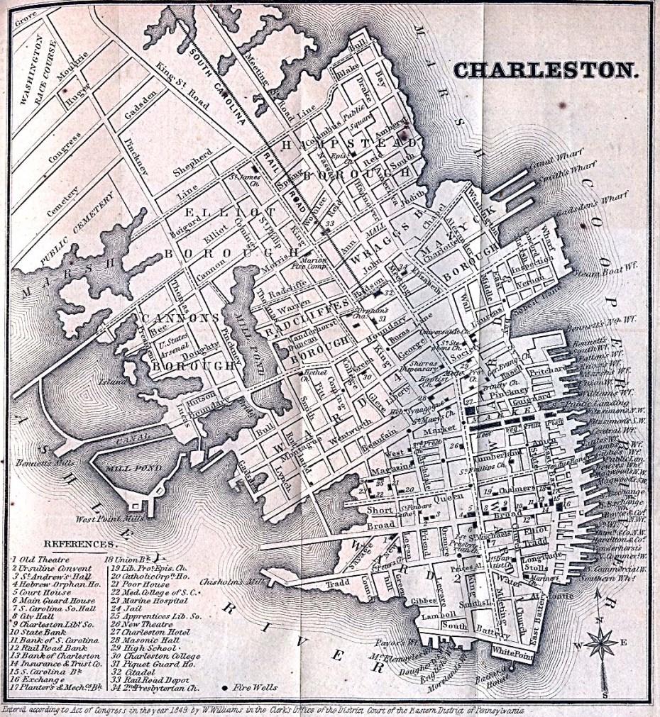 Charleston in 1869