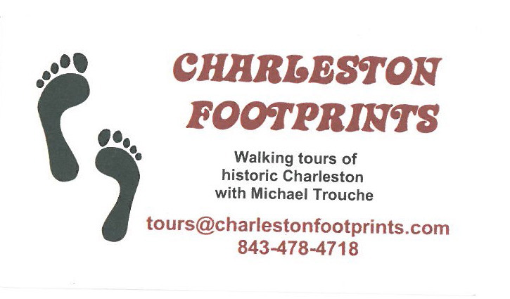 Charleston Footprints--the only path to follow in the City!