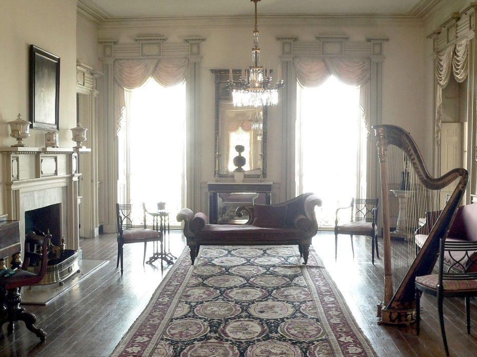 East Drawing Room, now flooded with light.