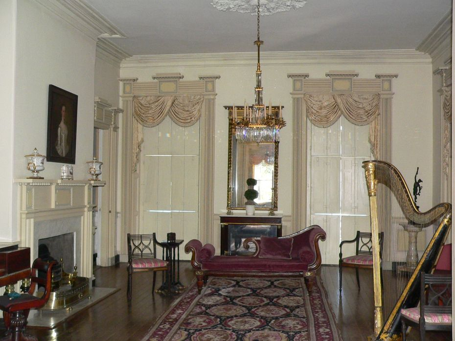 East Drawing Room, with shutters closed