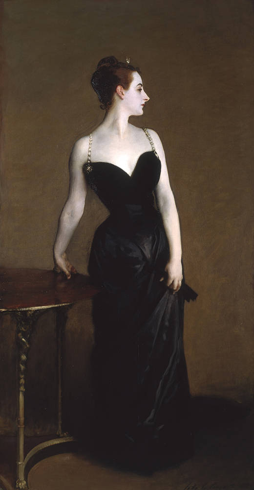 MADAME X. By John Singer Sargent. 1883-84. Photo, courtesy of the MET.
