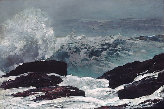 MAINE COAST. By Winslow Homer. 1896. Photo, courtesy of the MET.