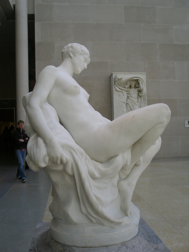 MEMORY. By Daniel Chester French. 1886-87.