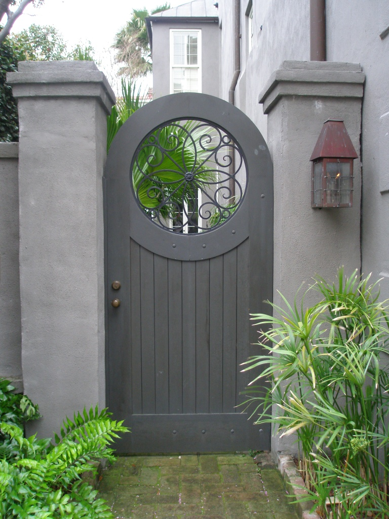 One of the loveliest garden gates in Charleston.