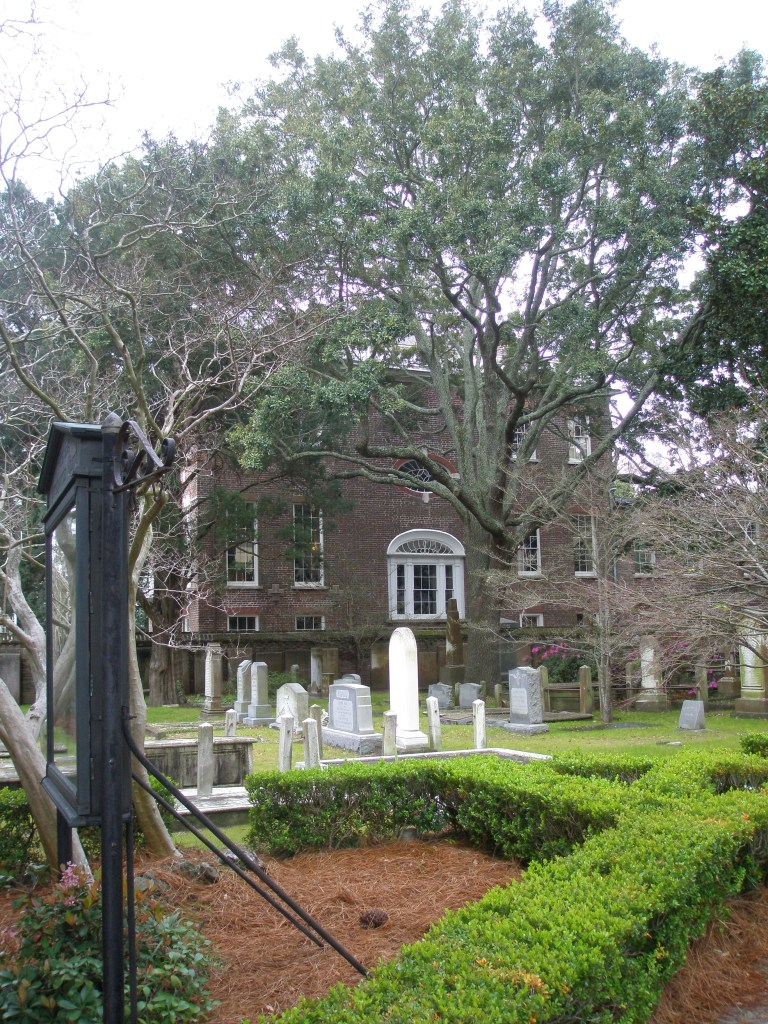 Burying Ground at the First Scots Church.