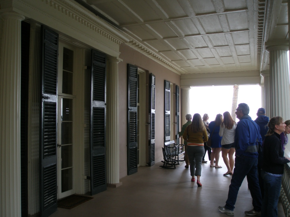 Our little tour group on the 2nd floor loggia
