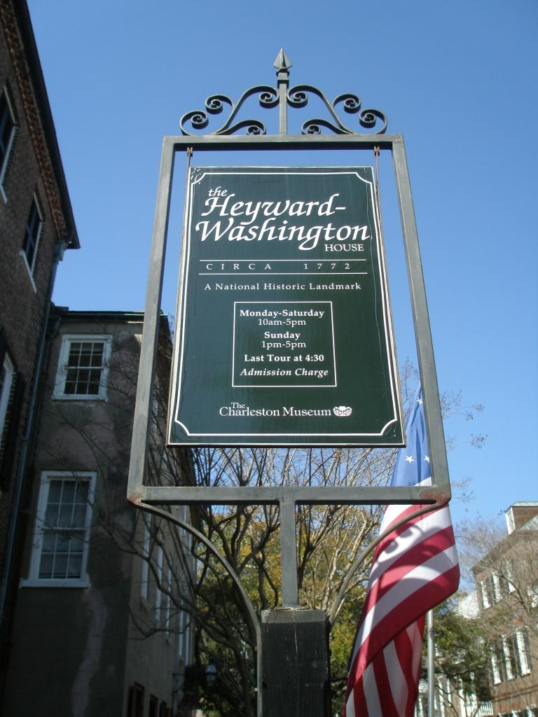Heyward-Washington House, 87 Church Street