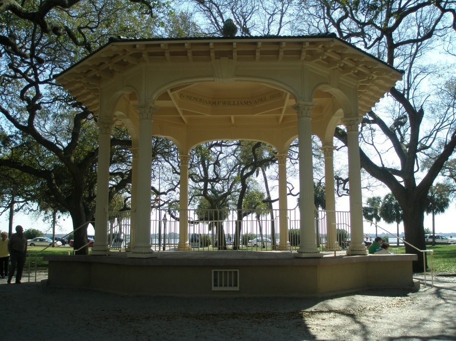 Bandstand at White Point Garden
