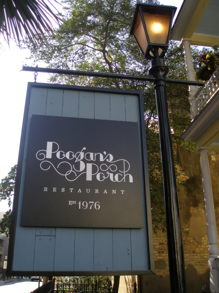 Poogan's Porch, the OTHER PLACE to eat!