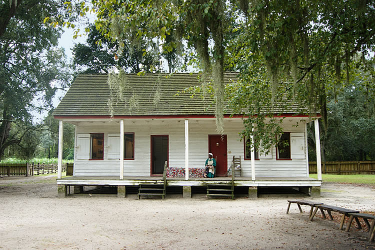 Eliza's House, a Reconstruction-era African American freedman's dwelling, at Middleton Place. Image courtesy of the Middleton Place Foundation.
