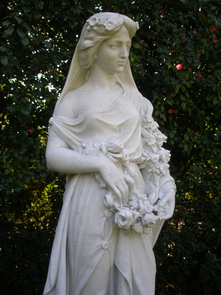 Another of the Goddesses who represent the Four Seasons, in the Secret Garden.