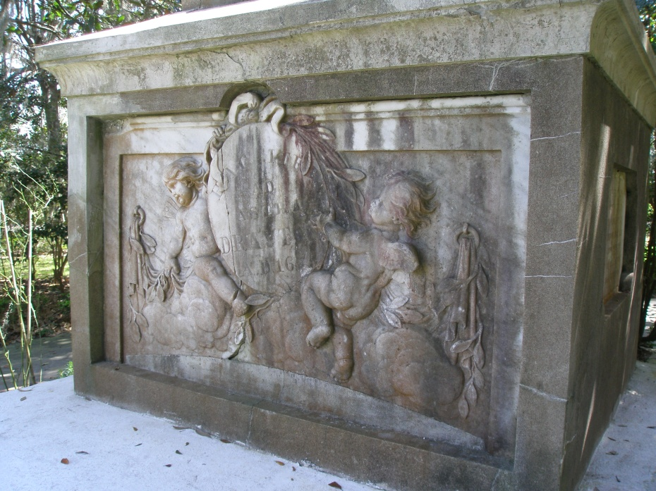 Plump Putti guard the Crypt