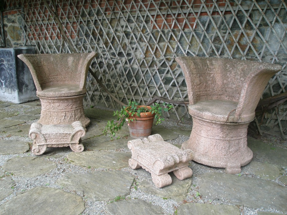 Fletcher Steele's Roman Thrones