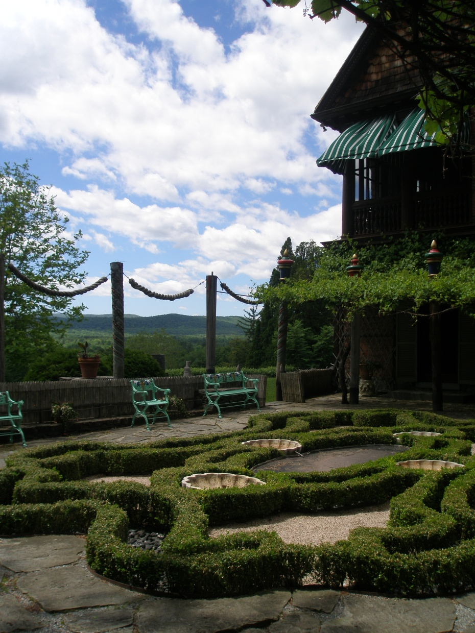 Inside the Afternoon Garden; facing West