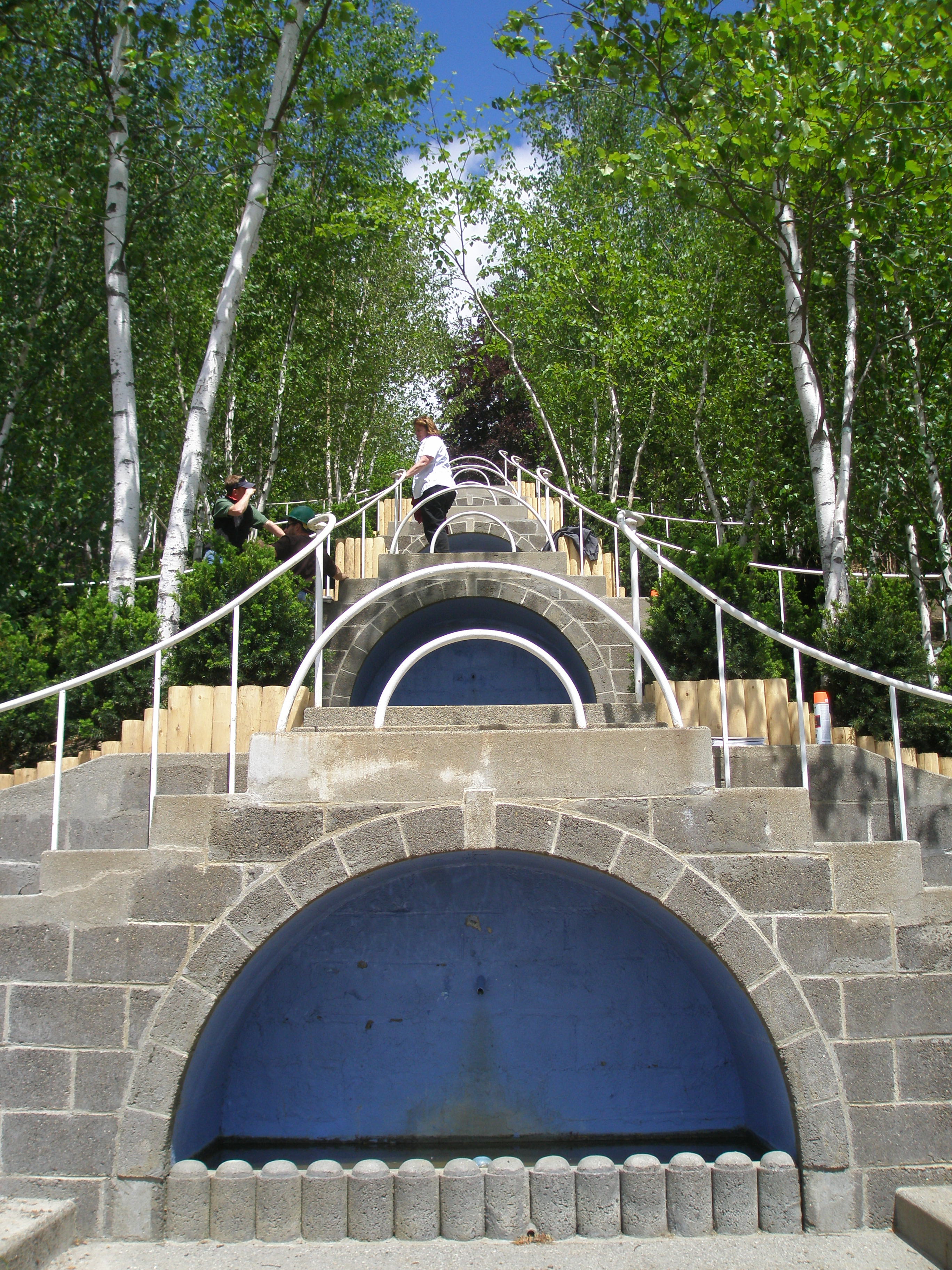 Blue Steps To Success: Grand Gardens Of The Berkshire Hills: Fletcher Steele's