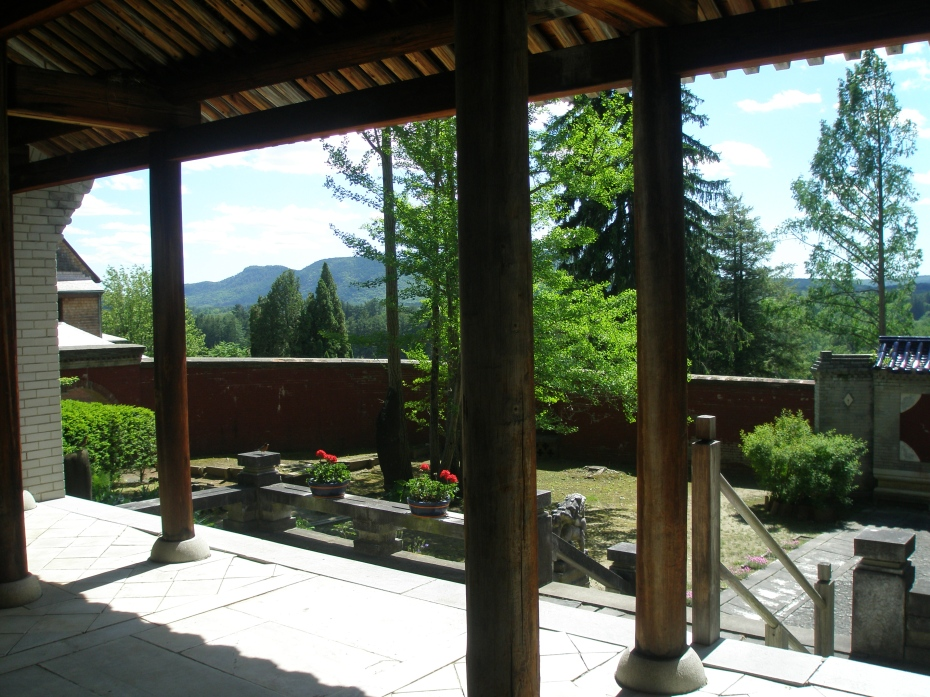 Another view from the Temple