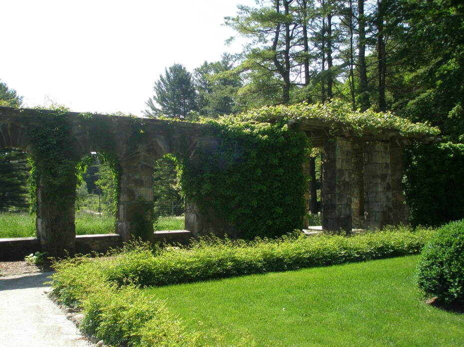 Rustic Pergola in the Walled Garden