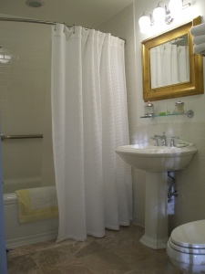 My bathroom at The Millbrook Inn