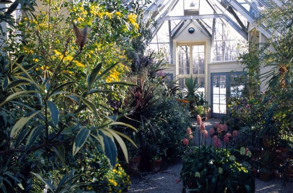 The Conservatory, in Wintertime. Image courtesy of Stonecrop Gardens.