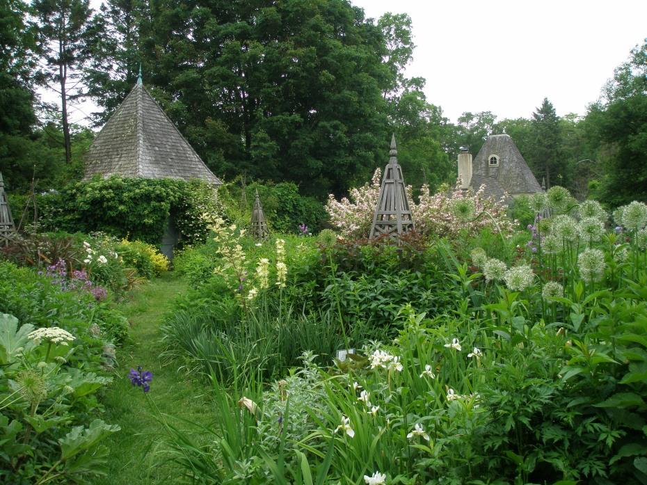 Enclosed Flower Garden