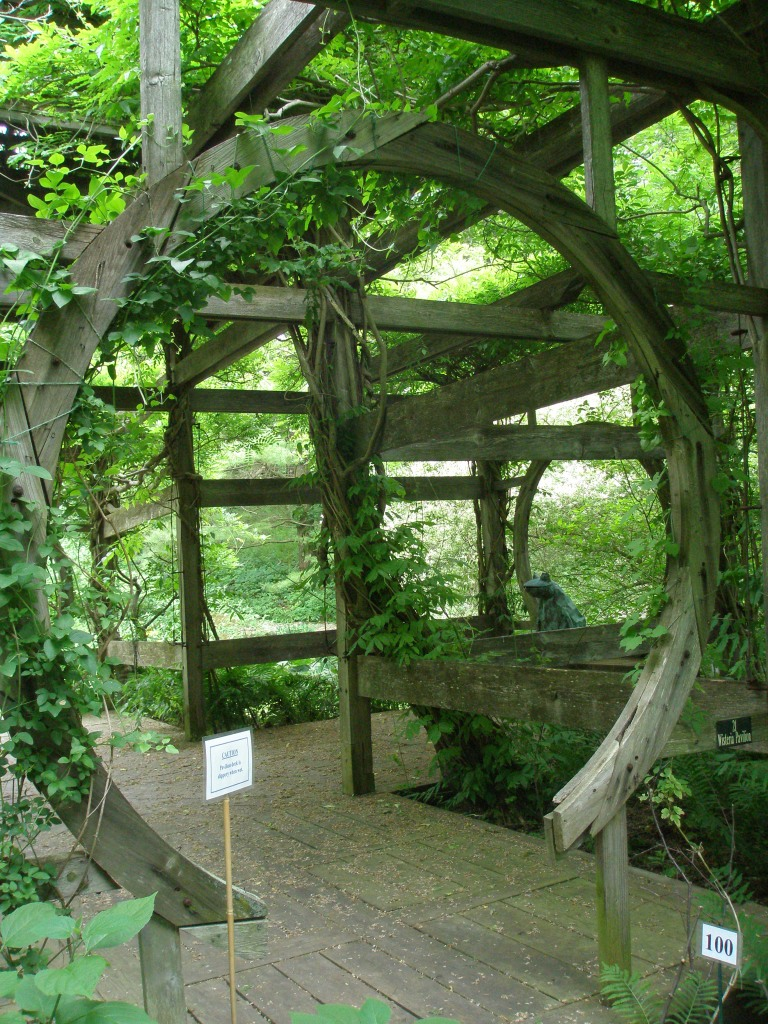 Entrance to Wisteria Pavilion