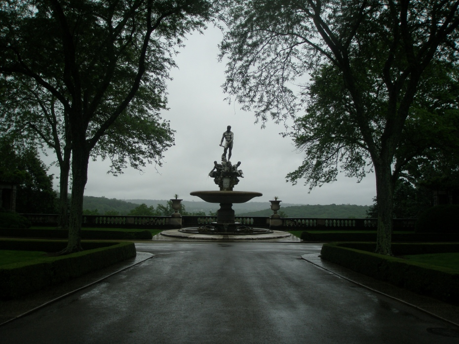 The Kykuit Oceanus Fountain, on June 7, 2013