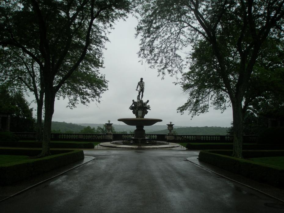 The Kykuit Oceanus Fountain, on June 7, 2013