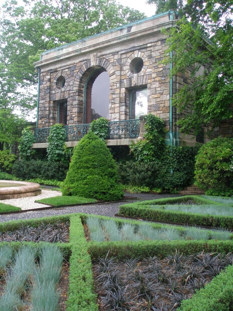The Tea House, as seen from the Morning Garden