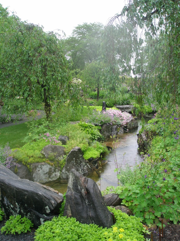 Another view of the Brook Garden