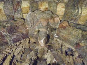 Carved Sandstone Elephant