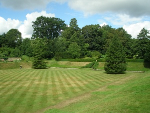 Sunken Lawn, opposite North Front of House