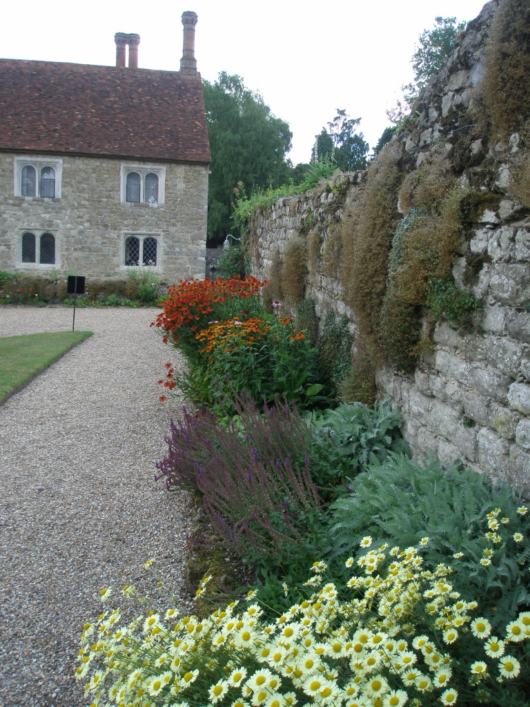 Garden Wall, near The Cottages