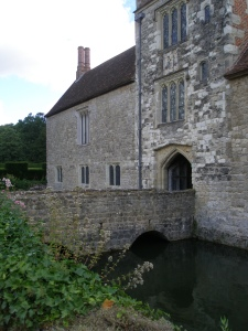 Bridge over moat, by Gatehouse Tower