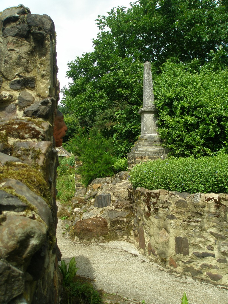 Towering Columns of Ironstone, and a miniature Kirk Hill War Memorial, as recycled by the Camerons