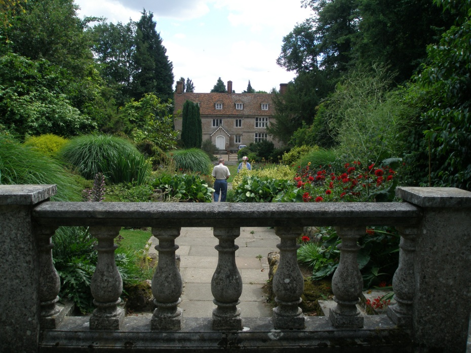 The front of the House, seen from the Top Terrace, which the Camerons planted in 1970.