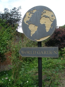 This way to The World Garden!