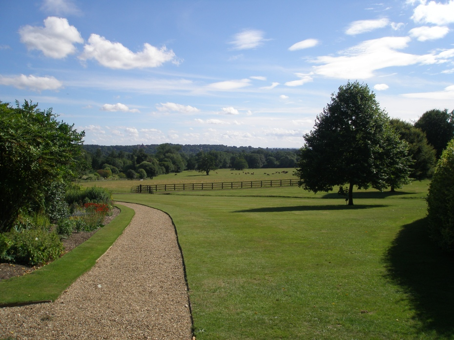 The Lawn below the Walled Garden