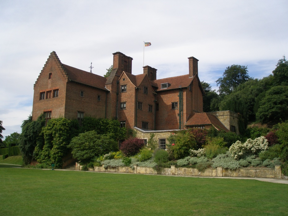 Another view of the back of the House, from the Terrace Lawn.