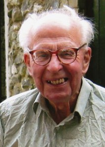 The venerable Roderick Cameron, at 91...who kept gardening until the Very End.