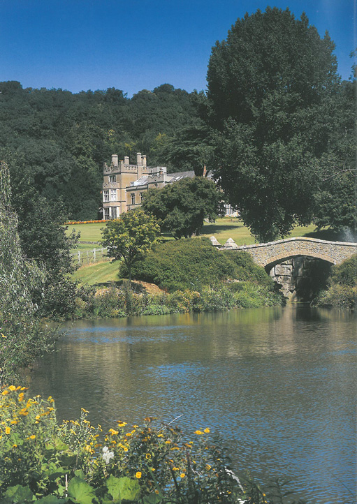View of the House, from the Lower Lake. A more serene setting I cannot imagine. Image courtesy of Titsey Place & Gardens.